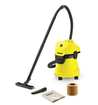 שואב אבק יבש / רטוב 1000W תוצרת KARCHER דגם WD 3