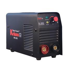 רתכת אלקטרונית 200A מגיע במזוודה קשיחה אלומיניום ומסכה מבית Krauss דגם KR-205A