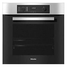 תנור אפיה בנוי 76 ליטר חזית קרירה Cool front הגנה מפני כוויות  תוצרת MIELE דגם H2266B