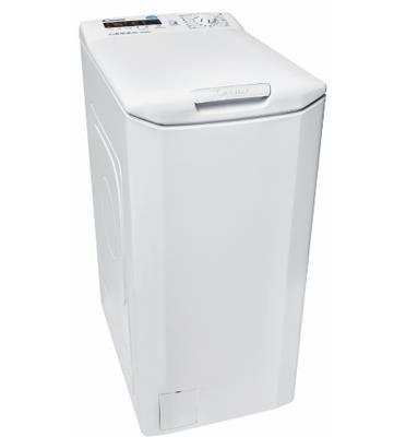 """מכונת כביסה  פתח עליון 7 ק""""ג 1000 סל""""ד ממשק SMART TOUCH תוצרת CANDY דגם  CSTG370D-S"""
