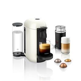 מכונת קפה VertuoPlus מבית NESPRESSO דגם GCB2-IL-WH-NE בגוון לבן