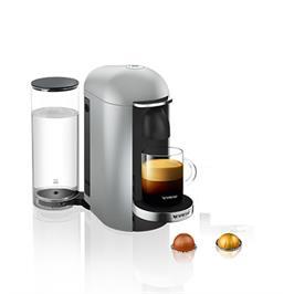מכונת קפה VertuoPlus מבית NESPRESSO דגם GCB2-IL-SI-NE בגוון כסוף