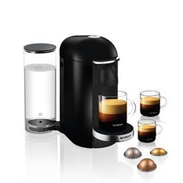 מכונת קפה VertuoPlus מבית NESPRESSO דגם GCB2-IL-BK-NE בגוון שחור