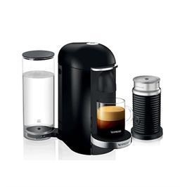 מכונת קפה VertuoPlus מבית NESPRESSO דגם A3GCB2-IL-BK-NE בגוון שחור כולל מקציף חלב אירוצי'נו