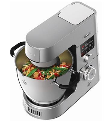 מיקסר מבשל מקצועי 6.7 ליטר 1500 וואט עוצמת חימום 1100 ואט צג דיגטלי תוצרת KENWOOD דגם KCC9040S