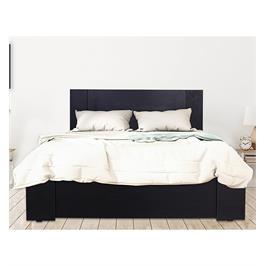 מיטה זוגית מעוצבת + מזרן קפיצים מתנה תוצרת אולימפיה דגם 7024