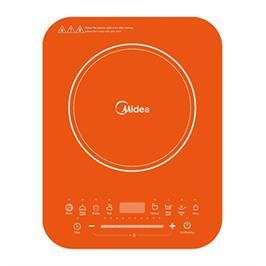 כיריים אינדוקציה בעל מוקד בישול יחיד 10 דרגות חימום הספק 2000W תוצרת MIDEA דגם  C20RTW2003