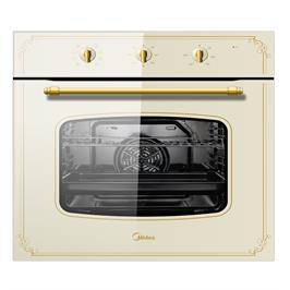 """תנור אפיה בנוי  60 ס""""מ 9 תוכניות בישול מסדרת Retro Collection תוצרת MIDEA דגם 65M90M1"""