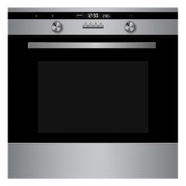 תנור אפיה בנוי 70 ליטר 9 תוכניות בישול טריקה שקטה גימור נירוסטה תוצרת MIDEA דגם 65DAE42144