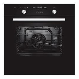 תנור אפיה בנוי 70 ליטר 9 תוכניות בישול גימור שחור תוצרת MIDEA דגם N5M90E5B