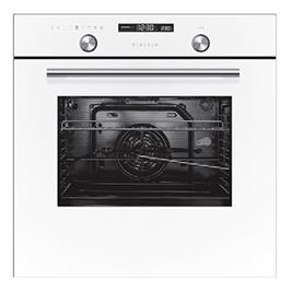 תנור אפיה בנוי 70 ליטר 9 תוכניות בישול גימור לבן תוצרת MIDEA דגם N5M90E5W