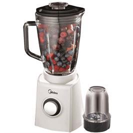 בלנדר לבן 1.5 ליטר משולב מטחנת קפה 0.4 ליטר תוצרת MIDEA דגם MJ-60BM01C