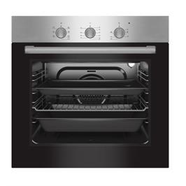 תנור אפייה בנוי 64 ליטר 6 תוכניות בישול גימור נירוסטה תוצרת PRINCE דגם PR6002