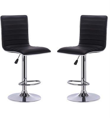 כסא בר מרופד בספוג מפנק לנוחות ולתמיכה מושלמת מבית HOMAX דגם מונפילייה