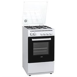 תנור 54 ליטר משולב כיריים 4 מבערים גימור לבן תוצרת LY VENT דגם OHV705
