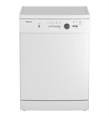 """מדיח כלים רחב 60 ס""""מ ל-12 מערכות כלים Free Standing צבע לבן תוצרת Blomberg דגם GSN011W"""