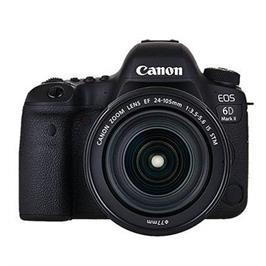 """מצלמה 3"""" רפקלס DSLR 26.2MP תוצרת CANON דגם EOS 6D MARK II + קיט עדשה 24-105 יבואן רשמי קרט!"""