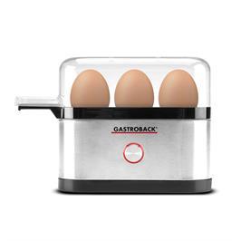 מחמם ביצים חשמלי 350W עם גימור נירוסטה מוברשת תוצרת GASTROBACK דגם 42800