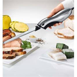 סכין חיתוך חשמלית 120W מנוע חזק מאפשר חיתול קל ומהיר תוצרת GASTROBACK דגם 41600