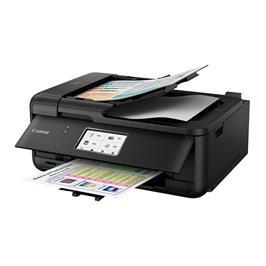 מדפסת 4 ב-1 מדפסת אלחוטית, קומפקטית ובעלת עיצוב נקי תוצרת CANON דגם PIXMA TR8550