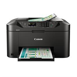 מדפסת אלחוטית משולבת 4 ב-1 הדפסה קישוריות לסמארטפונים ולענן תוצרת CANON דגם MB2150