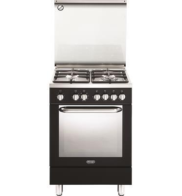 תנור חשמלי רב תכליתי 8 תוכניות משולב כיריים 4 להבות תוצרת Delonghi דגם NDS577AN בצבע שחור