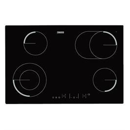 """כיריים חשמליות 78 ס""""מ זכוכית קרמית 4 אזורי בישול 9 רמות חימום תוצרת ZANUSSI דגם ZEV8646FBA"""