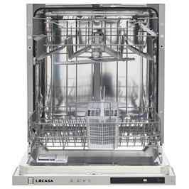 מדיח כלים אינטגרלי מלא 12 מערכות כלים 4 תוכניות הדחה תוצרת LACASA דגם LC124