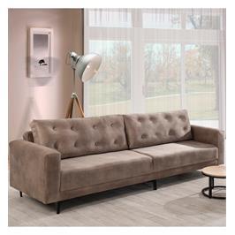 מערכת ישיבה מרשימה ונוחה בעלת שילדה עשויה עץ מלא ומאסיבי תוצרת LEONARDO דגם מיטל