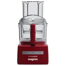 מעבד מזון מקצועי מנוע אינדוקציה תעשייתי משופר 950W תוצרת MAGIMIX CS-4200 JRXL Premium אדום