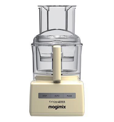 מעבד מזון מקצועי מנוע אינדוקציה תעשייתי משופר 950W תוצרת MAGIMIX CS-4200JCRXL Premium קרם