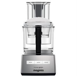מעבד מזון מקצועי מנוע אינדוקציה תעשייתי משופר 950W תוצרת MAGIMIX CS-4200JCMXL Premium כרום