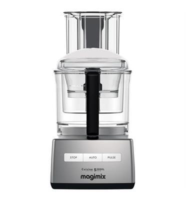 מעבד מזון מקצועי מנוע אינדוקציה 950W תוצרת MAGIMIX CS-4200JCMXL Premium כרום