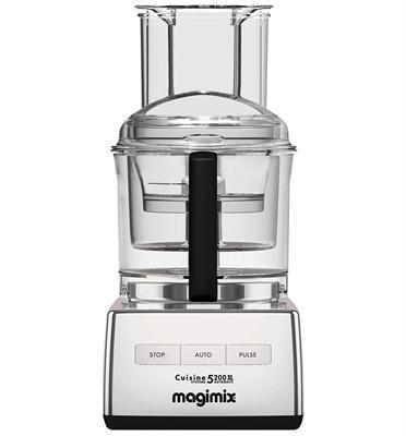 מעבד מזון מקצועי 1100W מנוע אינדוקציה תוצרת MAGIMIX דגם CS-5200 JCMXL Premium כרום + משקל מטבח של MAGIMIX מתנה!