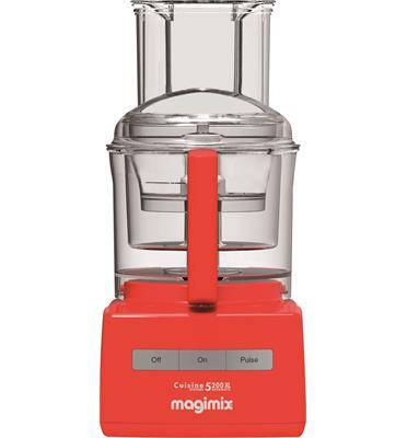 מעבד מזון מקצועי 1100W כולל מסחטת הדרים CS-5200 JORXL Premium כתום + משקל מטבח של MAGIMIX מתנה!