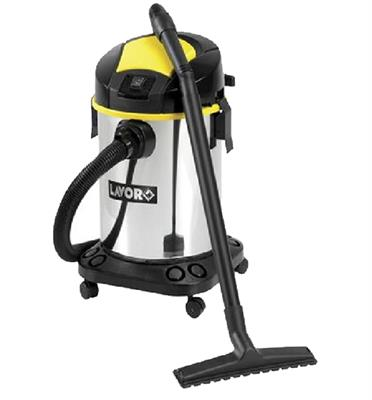 שואב אבק תעשייתי 270 בר בנפח של 20 ליטר להסרת לכלוך יבש ורטוב מבית LAVOR דגם VENTI X