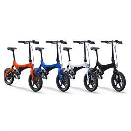 """אופניים חשמליות מתקפלים 25 קמ""""ש מערכת בלימת דיסק קידמי + אחורי גלגלי מגנזיום תוצרת ARION דגם R6"""