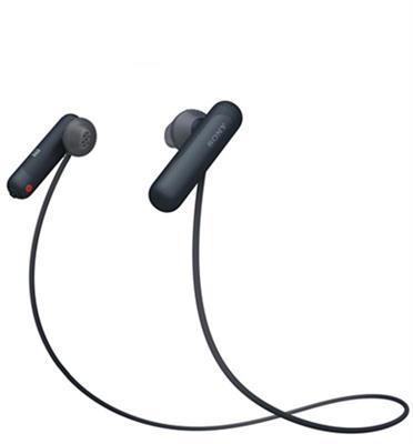 אוזניות  ספורט דינמיות BT,NFC Extra bass תוצרת SONY דגם WI-SP500B