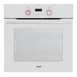 """תנור אפיה בנוי פירוליטי 60 ס""""מ 10 תוכניות גימור לבן תוצרת SAUTER דגם CUISINE 3900WP"""