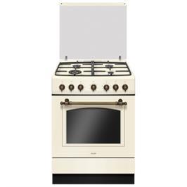 תנור משולב כיריים 65 ליטר 10 תוכניות אפיה בעיצוב רטרו יוקרתי תוצרת SAUTER דגם RUSTIC 7000C