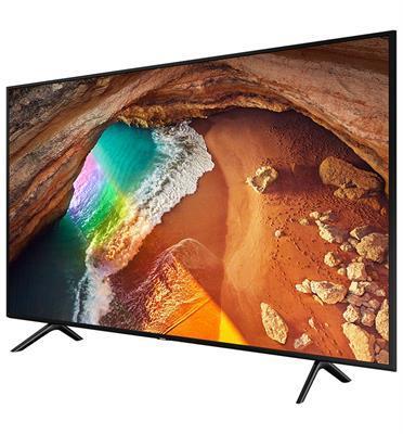 "טלוויזיה ""75 4K FLAT QLED SMART TV תוצרת SAMSUNG דגם QE75Q60R"