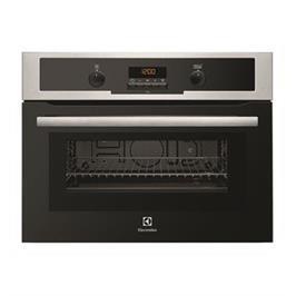 """תנור משולב מיקרוגל גריל 2D בילד אין 45 ס""""מ 46 ליטר תוצרת ELECTROLUX דגם EVY6600AOX"""