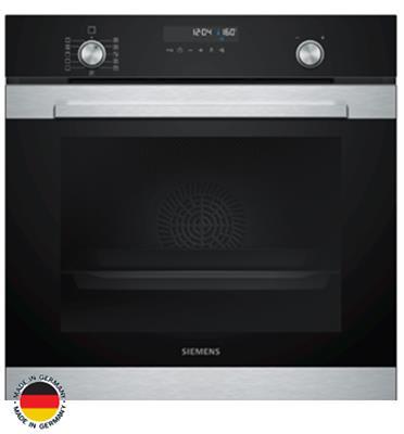 תנור אפייה בנוי 71 ליטר 9 תוכניות אפיה מסדרת IQ500 גימור נירוסטה תוצרת SIEMENS דגם HB338GBS0Y