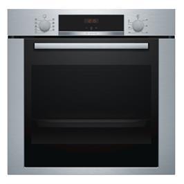 תנור אפיה בנוי 71 ליטר 7 תוכניות טורבו 3D גימור נירוסטה תוצרת BOSCH דגם HBA334BS0Y
