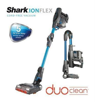 שואב אבק אלחוטי נטען 23 דקות עבודה מבית shark דגם IF200T תצוגה