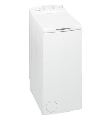 """מכונת כביסה פתח עליון 5.5 ק""""ג 800 סל""""ד בטכנולוגיית החוש השישי תוצרת Whirlpool דגם AWE6320"""