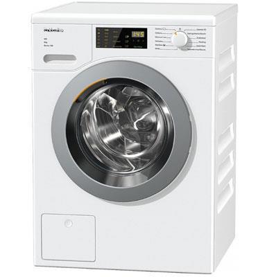 """מכונת כביסה פתח חזית 8 ק""""ג 1400 סל""""ד מהסדרה הקלאסית W1 תוצרת MIELE דגם WDD025"""