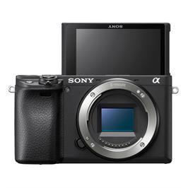 מצלמת סטילס דיגיטלית ללא מראה 24.2MP מסדרת אלפה 4K מבית SONY דגם ILC-E6400B