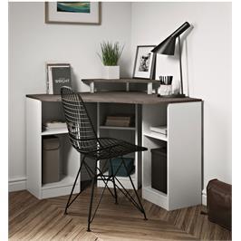 שולחן עבודה פינתי עם תאי אחסון מבית BRADEX דגם CORNER DESK