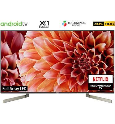 """טלויזיה """"55 4K LED Android TV תוצרת Sony דגם KD-55XF9005BAEP מתצוגה"""